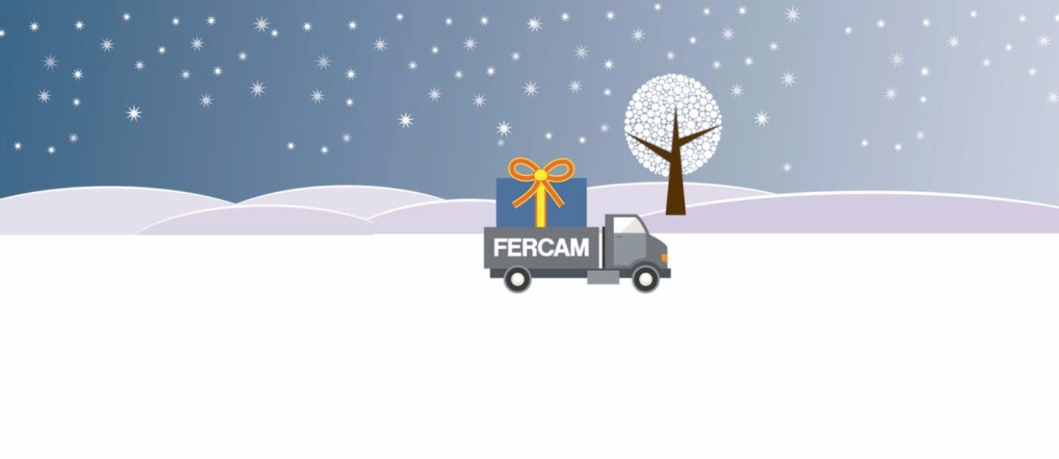 FERCAM does not stop over Christmas time 2016