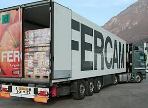 full truck load road rail carico completo di fercam. Black Bedroom Furniture Sets. Home Design Ideas