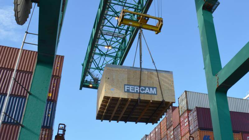 National and international Project cargo - FERCAM