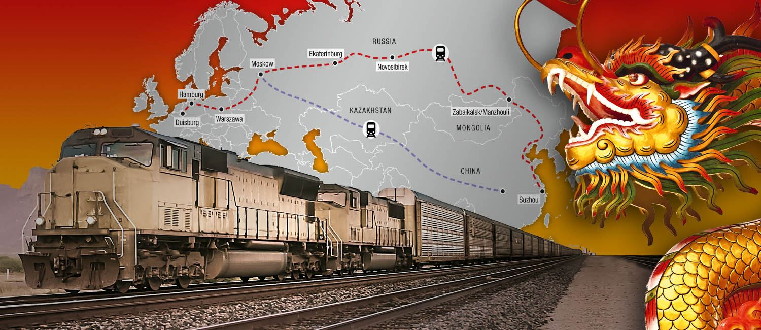 FERCAM launches a new service that connects Asia to Europe: the Euro-Asian Landbridge